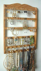 Jewelry Holder Combo Organizer Honey