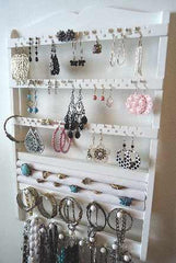 Jewelry Organizer Ring Holder White - Jewelry Holders For You