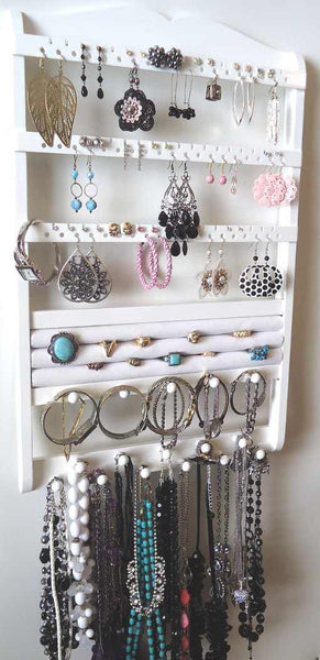 Jewelry Organizer Ring Holder White Jewelry Holders For You