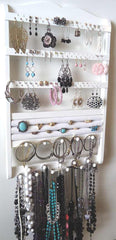 Jewelry Organizer Ring Holder White