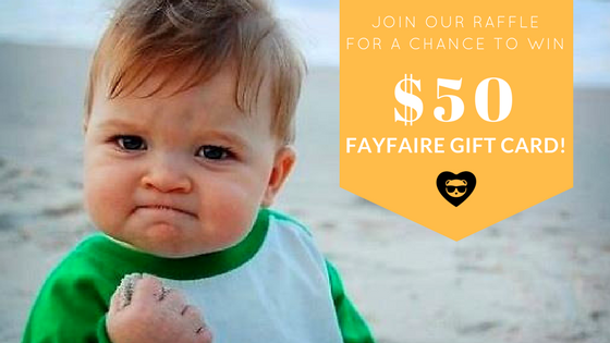 Want to win $50 Fayfaire Products?