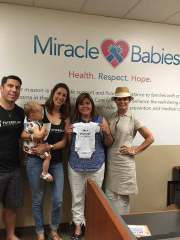 fayebeline meeting with miracle babies