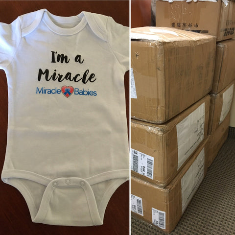 fayebeline donates 1,200 baby onesies to miracle babies