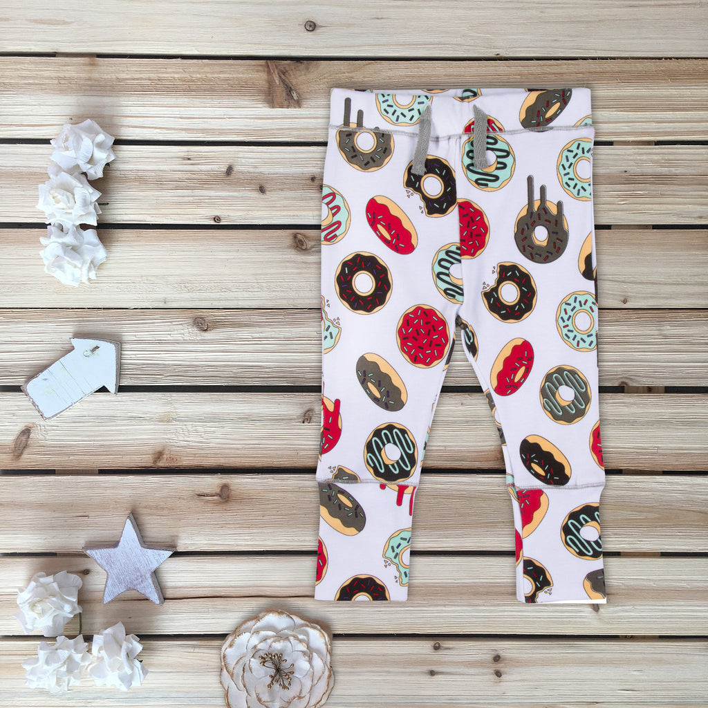 Donut Printed Pants for Babies