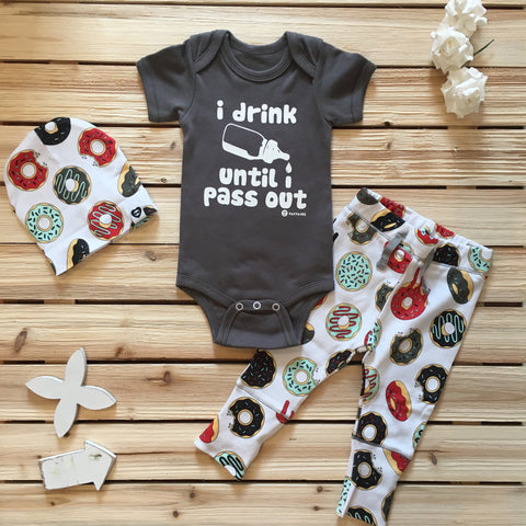 """No Hair Don't Care"" Baby Bodysuit"