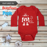 Love Machine Baby Onesie for Valentines Day