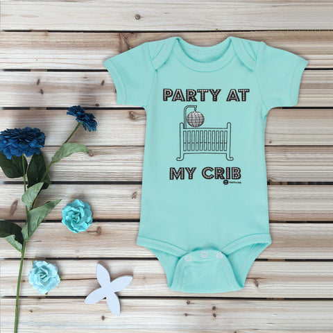 """I'll Have Your Finest House White"" Baby Bodysuit"