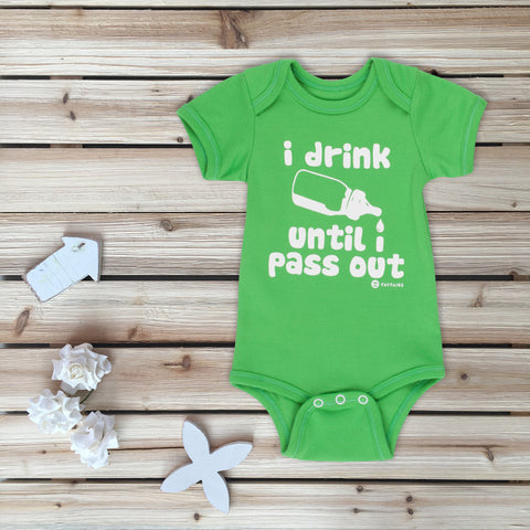 """My Spirit Animal"" Black Baby Onesie for Magical Babies"