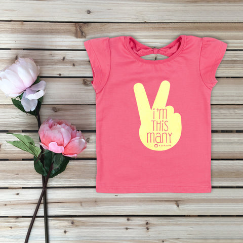 """This Many - 5 yr"" Toddler Birthday T-Shirt, Black & Gold Foil"