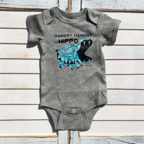 Baby Onesie - Hangry Hippos Funny Baby Onesie