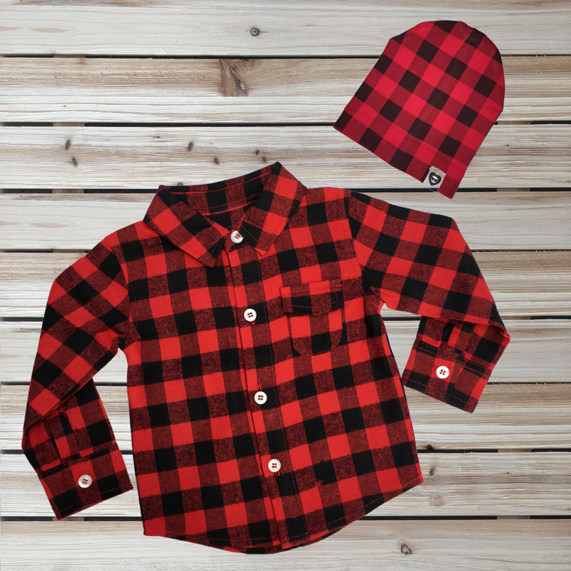 Buffalo Plaid Bundle for Babies