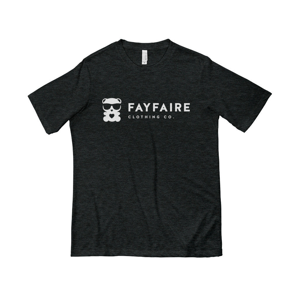 Fayfaire Signature Men's Short Sleeve T-shirt, Black