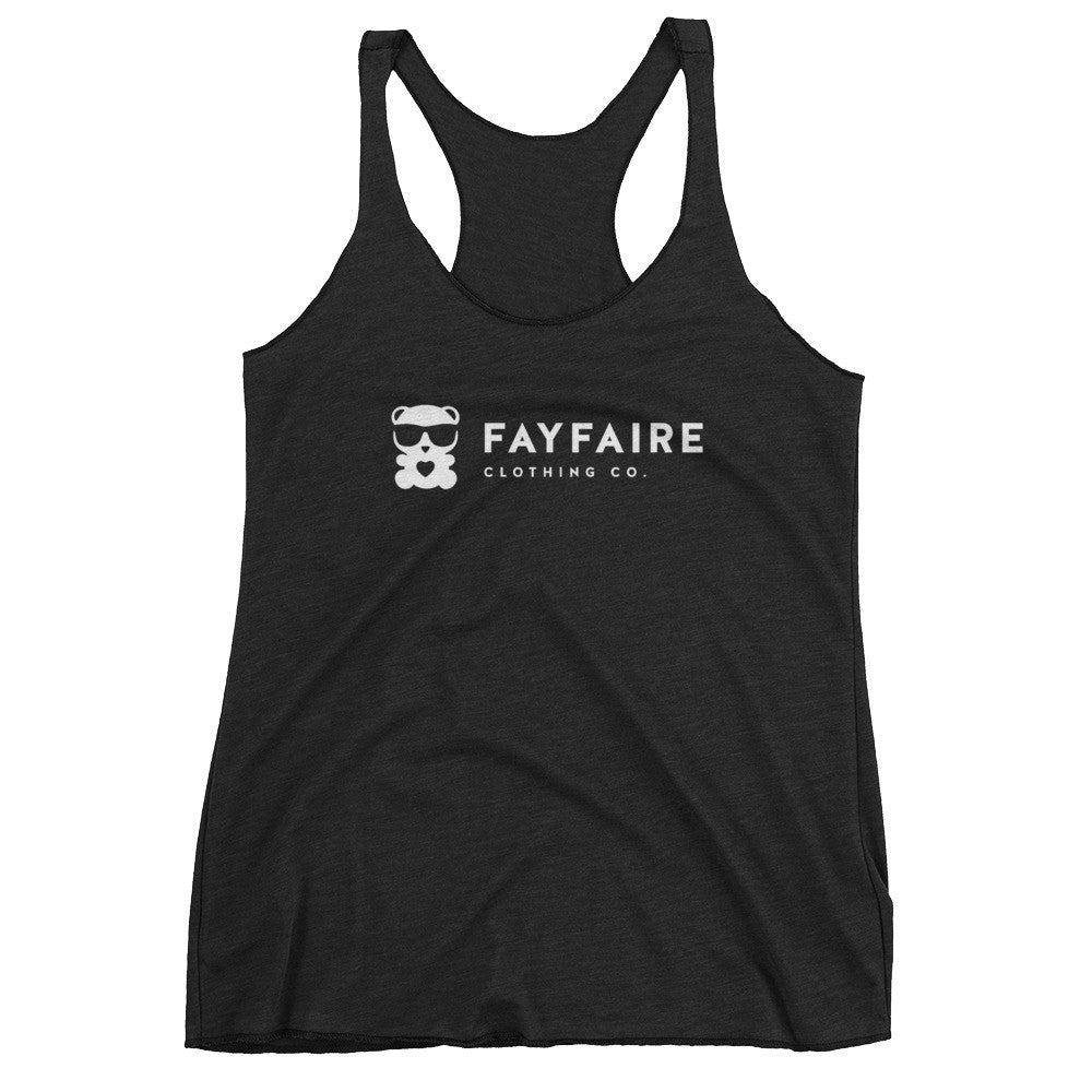Fayfaire Signature Women's Tank Top, Vintage Black