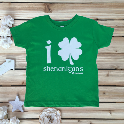 """I Drink Until I Pass Out"" Green Baby Bodysuit for St. Patrick's Day"