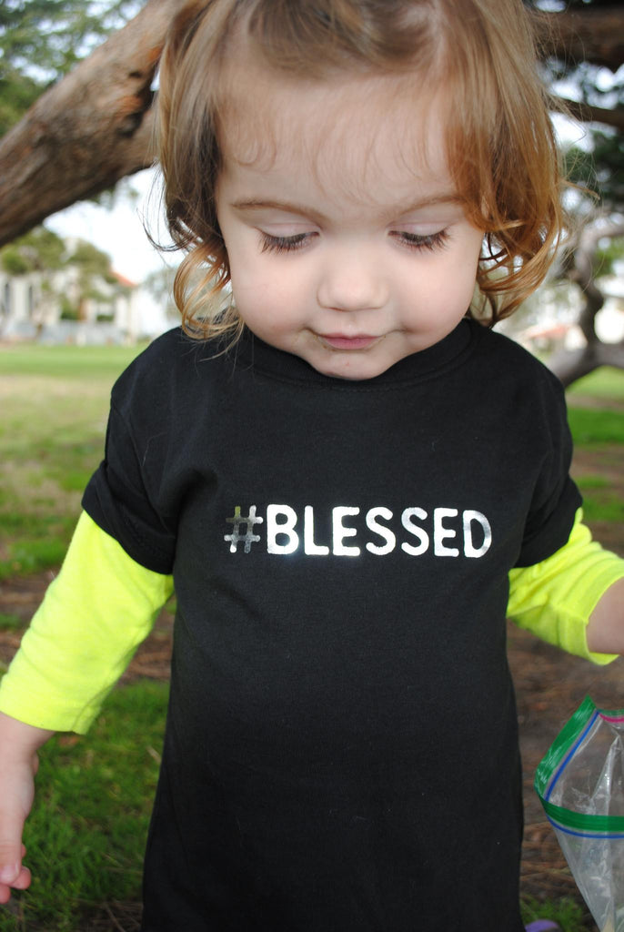 Toddler T-Shirt - Fayebeline Boutique Quality Gift #Blessed Premium Toddler Tee T-Shirt