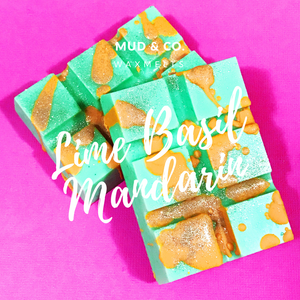 Lime Basil Mandarin Soy Wax Melts