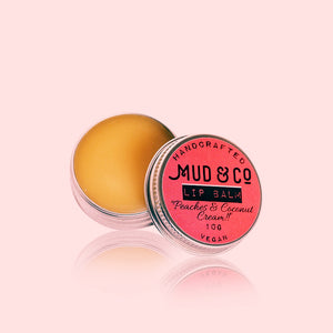 Peaches & Coconut Cream!! Vegan Lip Balm