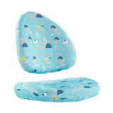 kid2youth   BABO CHAIR COVER (AQUA GREEN)