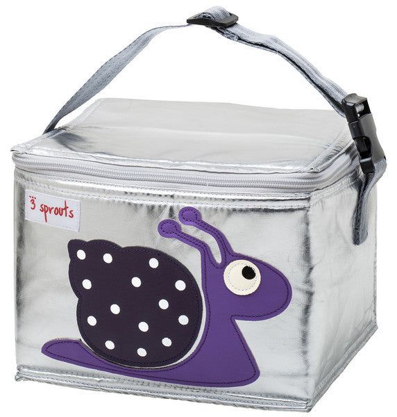 3 Sprouts Lunch Box Purple Snail