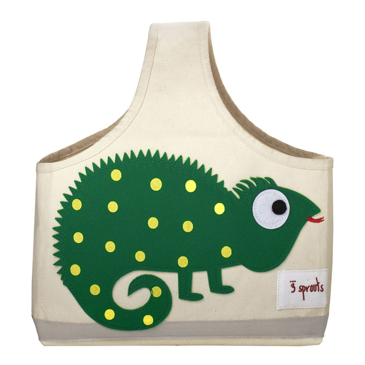 3 Sprouts Storage Caddy Green Iguana - DarlingBaby