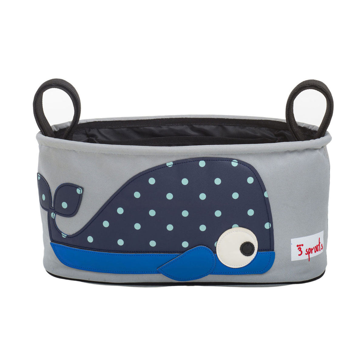 3 Sprouts Stroller Organiser Blue Whale - DarlingBaby