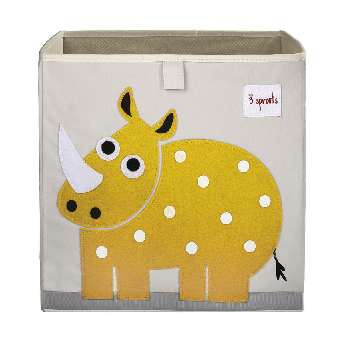 3 Sprouts Storage Box Yellow Rhino - DarlingBaby