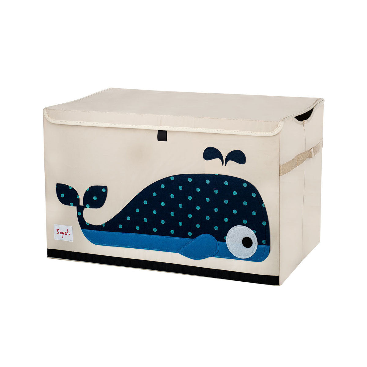 3 Sprouts Toy Chest Blue Whale - DarlingBaby
