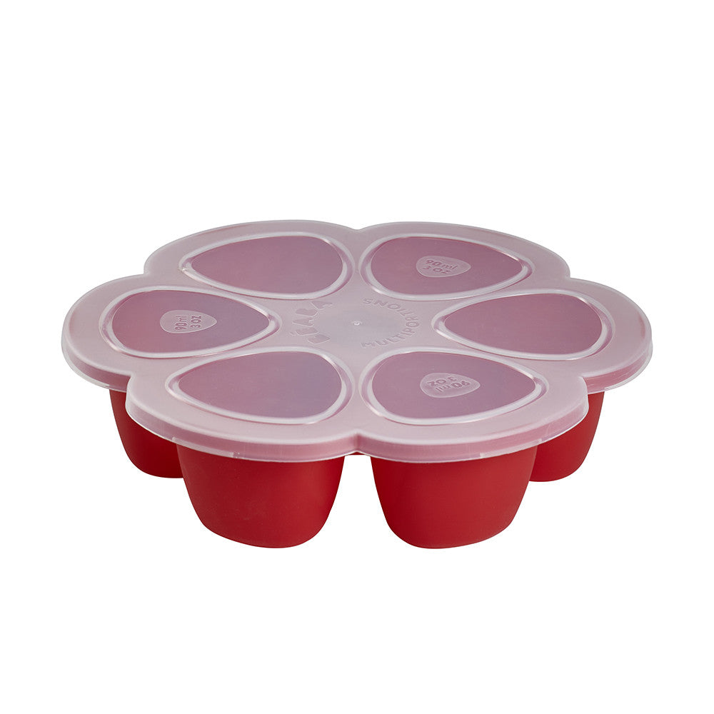 BEABA Silicone Multiportions - Red - 90ml