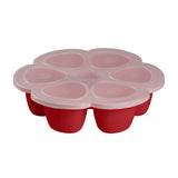 BEABA Silicone Multiportions - Red - 150ml