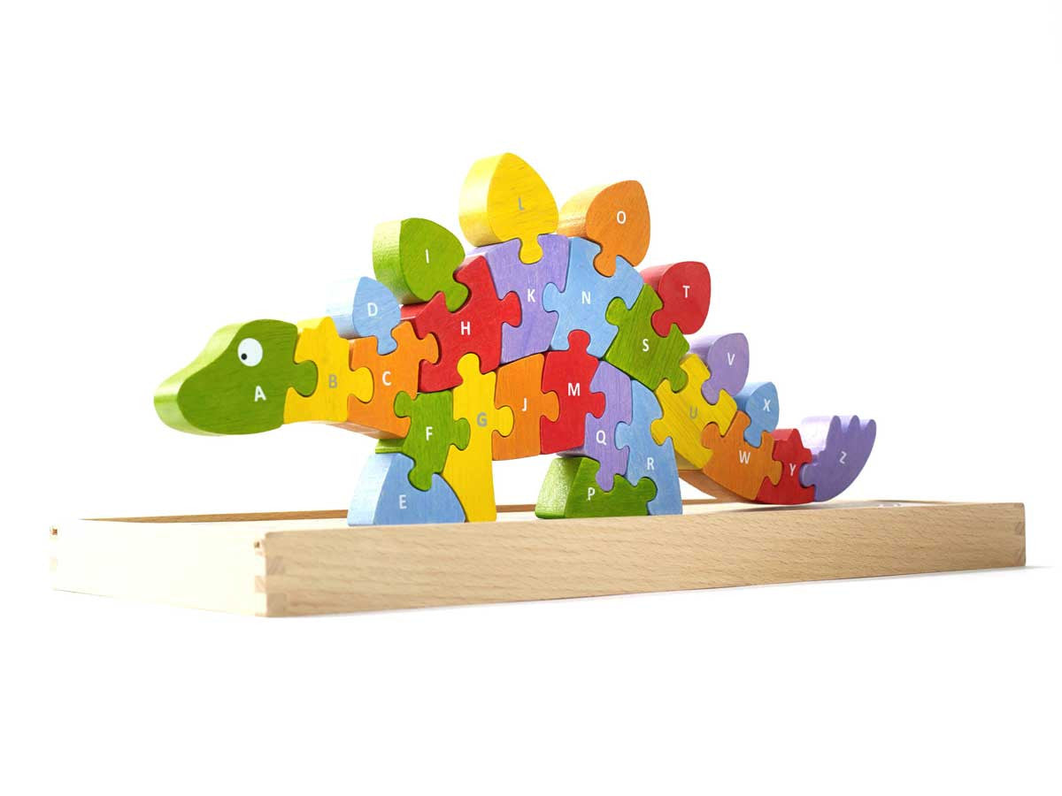 Begin Again - Dinosaur A-Z Puzzle - DarlingBaby