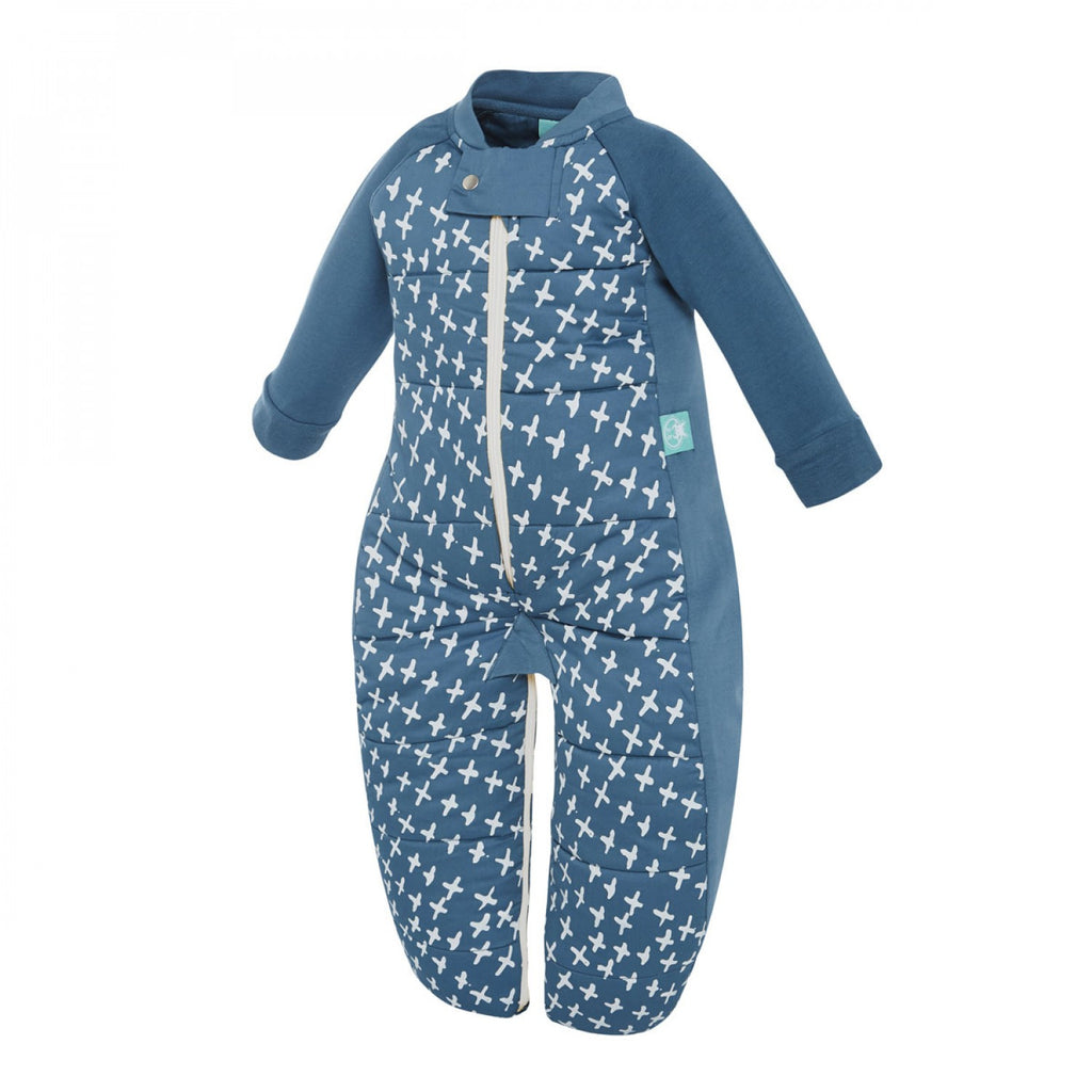 ergoPouch Winter Sleepsuit Bag (3.5 tog) - Navy Cross