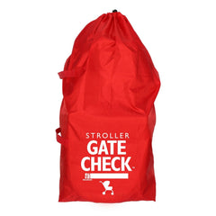 J.L. Childress Red Standard and Double Strollers Gate Check Bag