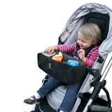 J.L. Childress Black Food N Fun Toddle Tray - DarlingBaby