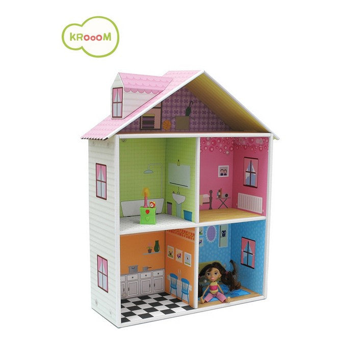 Krooom Melrose playset - Dollhouse theme playset - DarlingBaby