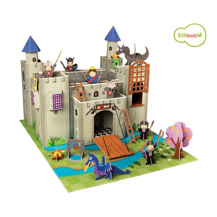 Krooom Artur Playset - Knights Castle theme playset
