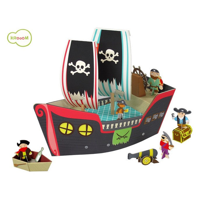 Krooom Cooper playset - Pirate Ship playset