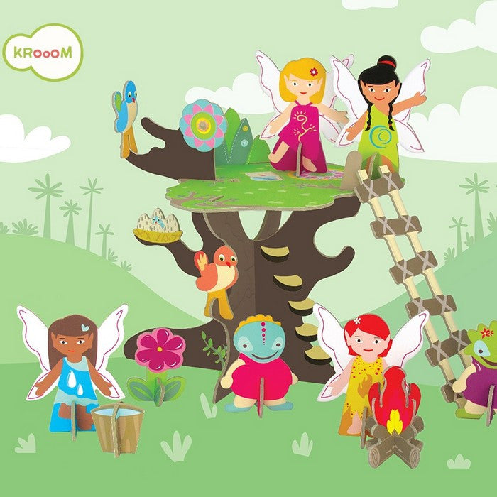 Krooom Fairies Tree - Fairies Tree Playset