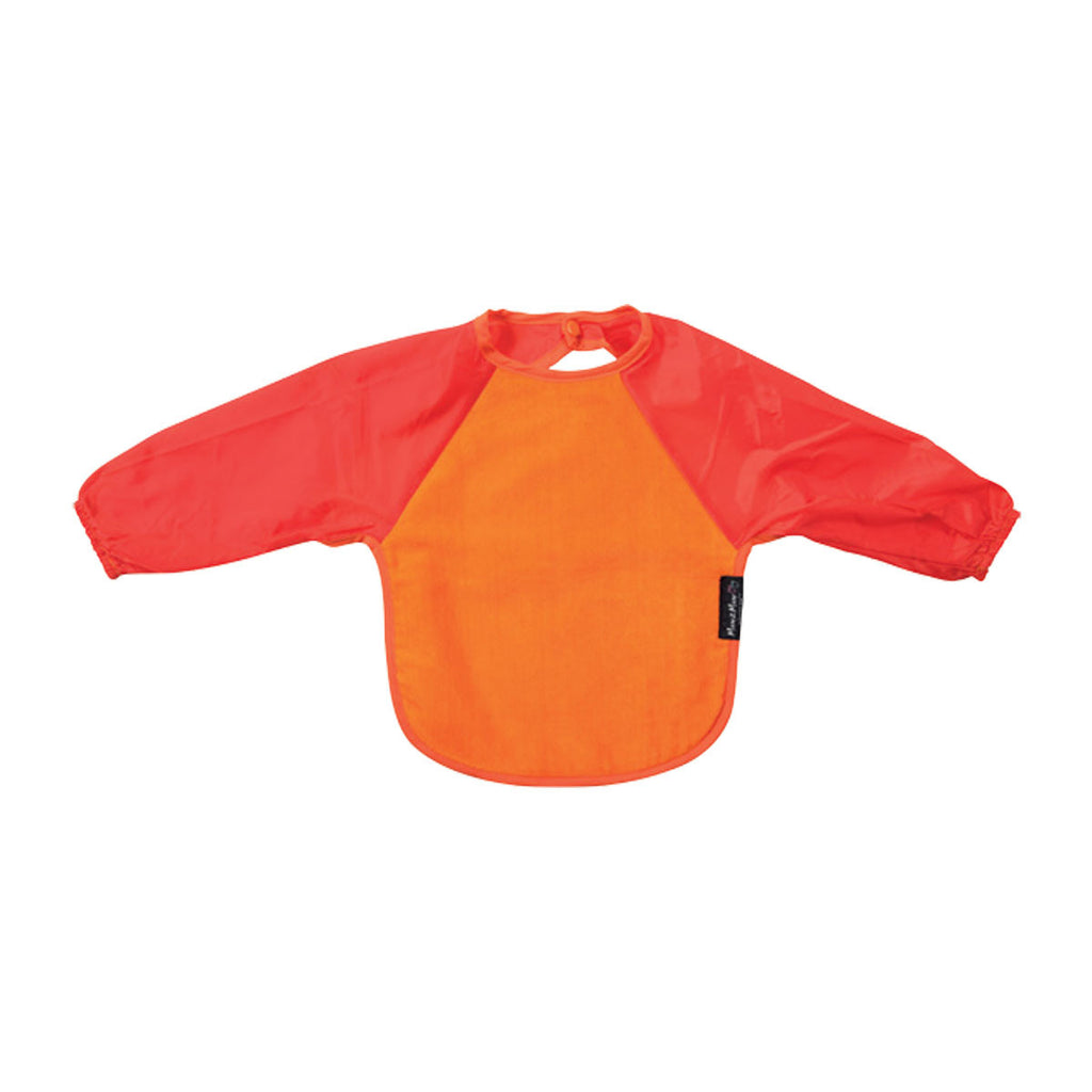 Mum2Mum Long Sleeve Bib Orange