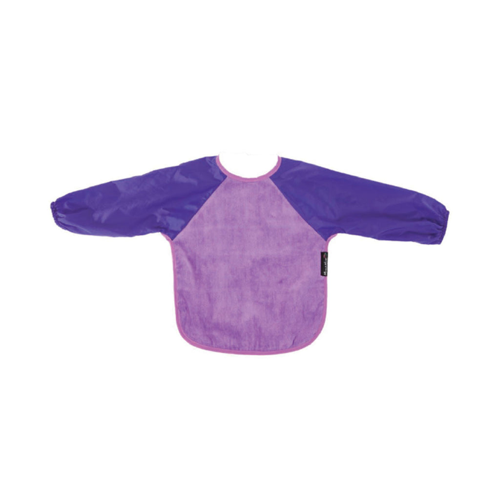 Mum2Mum Long Sleeve Bib Purple