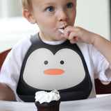 Make My Day - baby bib - Penguin