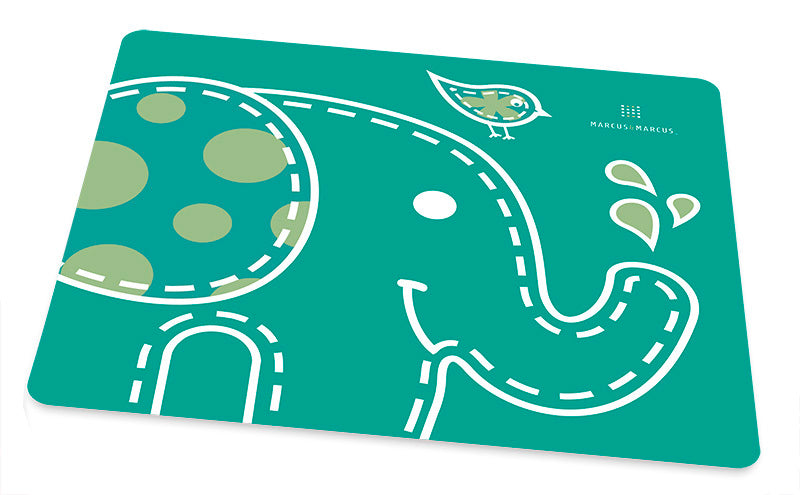 Marcus & Marcus Silicone Children's Place Mat Elephant