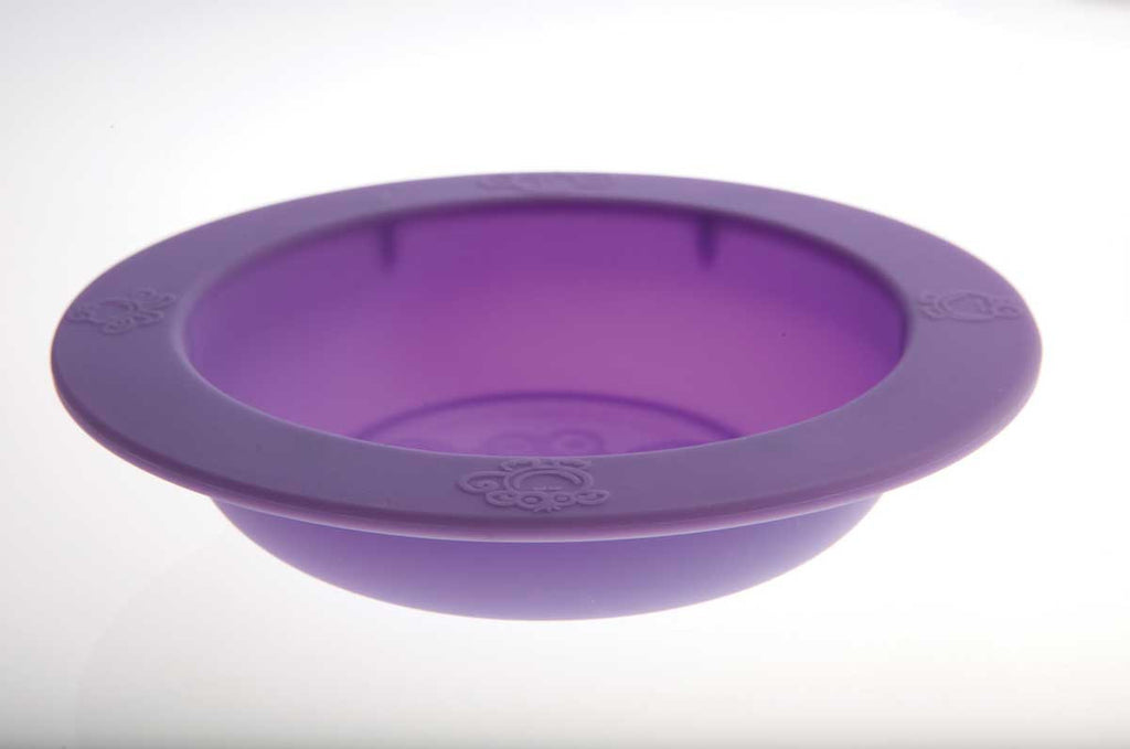 Oogaa Silicone Bowl Oogaa Silicone Bowl - Purple