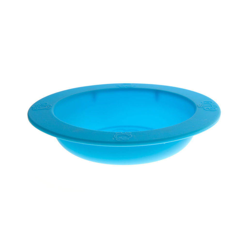 Oogaa Silicone Bowl Oogaa Silicone Bowl - Blue