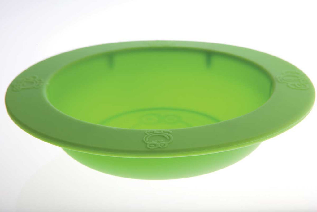 Oogaa Silicone Bowl Oogaa Silicone Bowl - Green