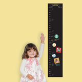 Pearhead ChalkBoard Decal Growth Chart Multi