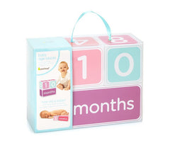 Pearhead Baby age Blocks Pink