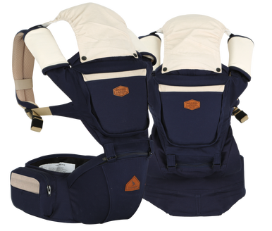 i-angel Baby Carriers Hipseat Rainbow 2 Dark Blue