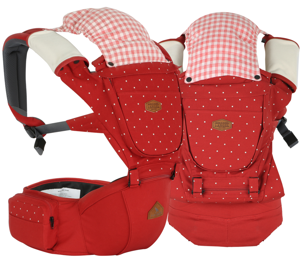 i-angel Baby Carriers Hipseat Rainbow 2 Orange