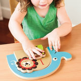 Skip Hop Alphabet Zoo Nesting Animal Puzzle