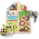 Skip Hop Alphabet Zoo Match & Play Puzzle